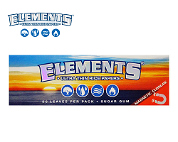 ELEMENTS ULTRA THIN RICE PAPERS エレメントローリングペーパー ライス 1-1/4