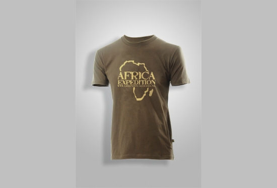 Army Green Africa Expedition T-Shirt