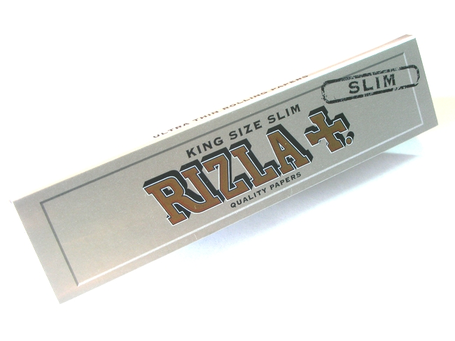 RIZLA-Silver KING SIZE ULTRA THIN (極薄)