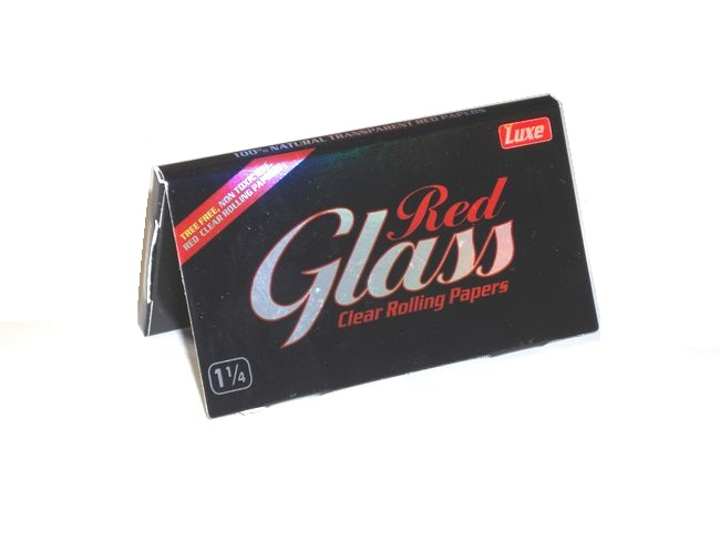 Glass Clear Rolling Papers 1・1/4